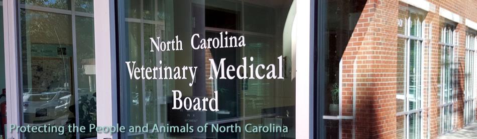 The North Carolina Veterinary Medical Board NCVMB